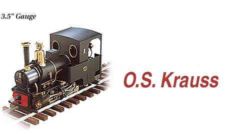 OS Live Steam Locomotives